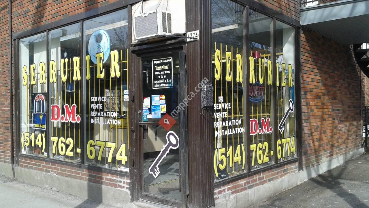 DM Locksmith Montreal