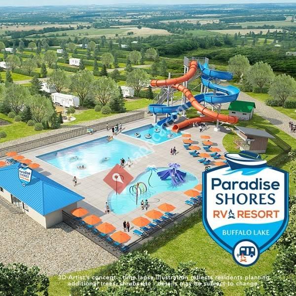 Paradise Shores Rv Resort Calgary Office Calgary