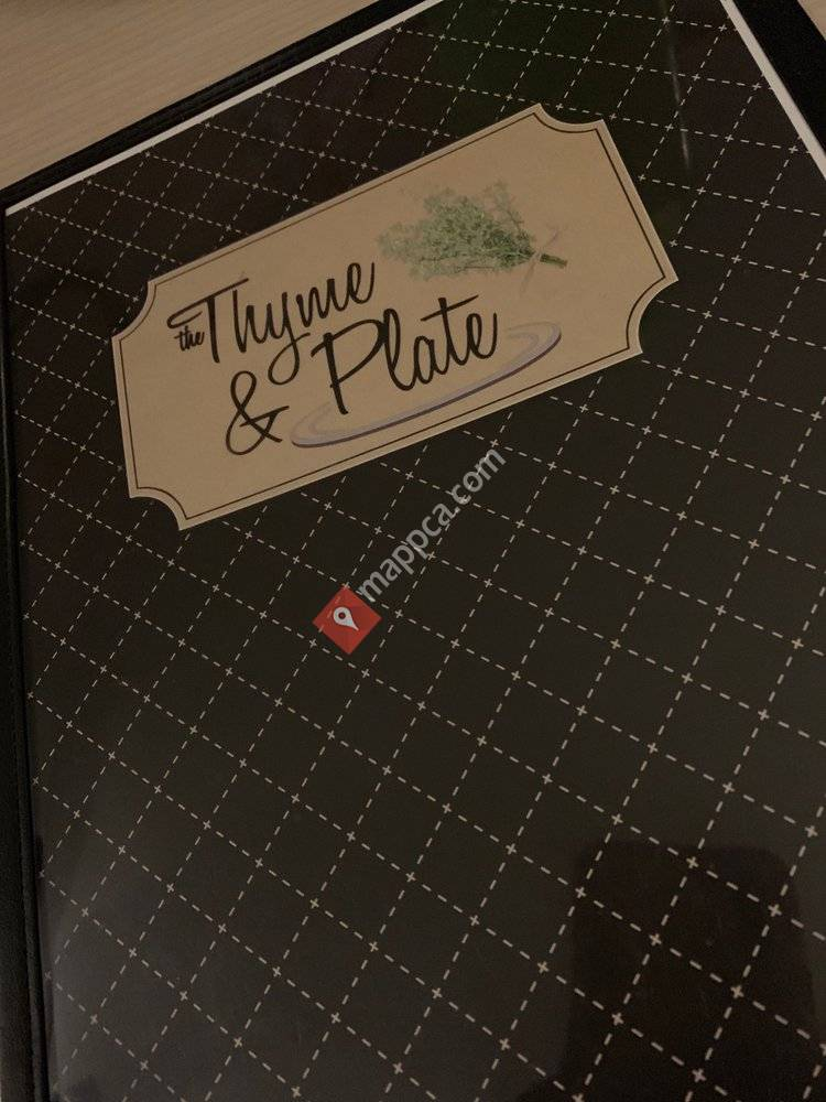 Thyme & Plate